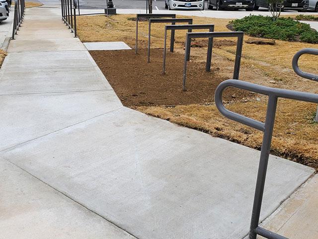 ADA sidewalk
