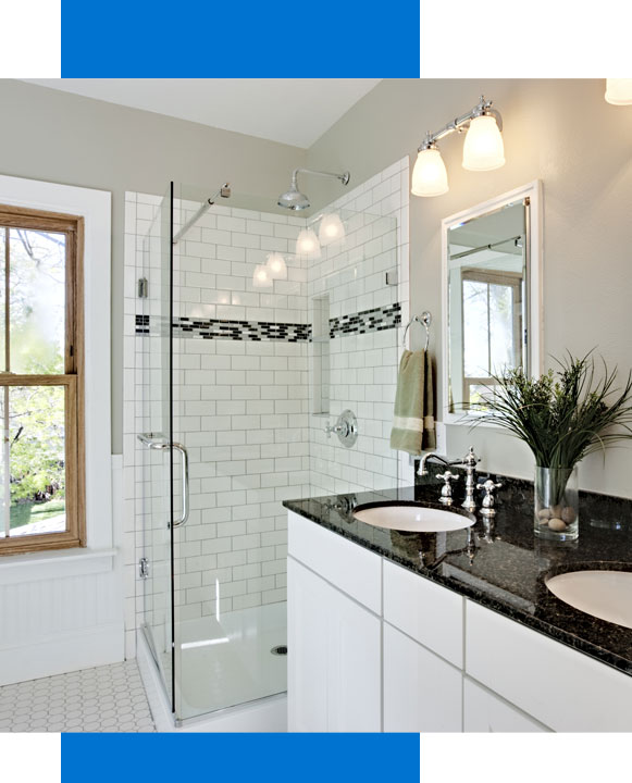 Bathroom remodel by Powerhouse